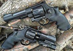 """armaswords: """" Manufacturer: Smith & Wesson  Mod. 327 TRR8 Type - Tipo: Revolver Caliber - Calibre: 357 Magnum Capacity - Capacidade: 8 Rounds Barrel length - Comp.Cano: 5 Weight - Peso: 1000 g @smithwessoncorp Manufacturer: Smith & Wesson  Mod. 325..."""