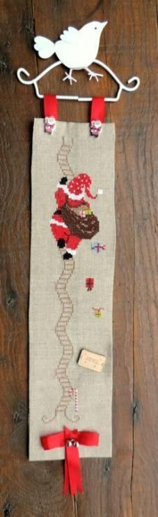 Attached with Buttons or Snaps Cross Stitch Finishing
