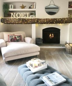 Work done for the day, now to start the Christmas shopping! Going to plop myself here and put a film on, but I've seen Band of Brothers is… Living Room Goals, Living Spaces, Living Rooms, Pretty Room, Living Room With Fireplace, First Home, Christmas Shopping, Decoration, Beautiful Homes