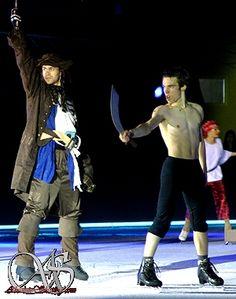 Pirates of the Caribbean - Kevin Van Der Perren & Jelle Butzen Shows, Pirates Of The Caribbean, Van, Vans, Vans Outfit