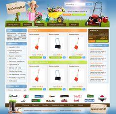 AgroCentrum24 - sprzedaż akcesoriów gospodarstwa domowego oraz narzędzi ogrodniczych.