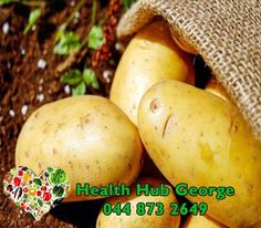 #DidYouKnow that potatoes contain about 17% starch and they are one of the best natural sources of starch. #HealthHub