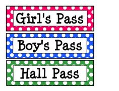 Persnickety image in hall passes printable