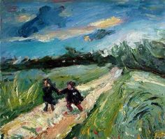 "Chaïm Soutine ""Return from school after the storm"", 1939"