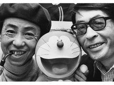 Fujiko Fujio - a manga writing duo formed by Hiroshi Fujimoto and Motoo Abiko, best known for creating Doraemon. S)