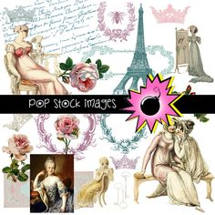 Check out French Elements Digital Scrapbooking by popstock on Creative Market