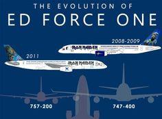 1 Iron Maiden Singer To Pilot U0027Ed Force Oneu0027 747 Jumbo Jet On World