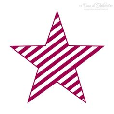 Motivstempel Star stripes