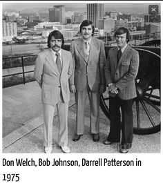 Don Welch-Bob Johnson- Darrell Patterson Downtown Chattanooga, Chattanooga Tennessee, Nashville, Lookout Mountain Tennessee, Steve Marriott, Memphis, Old Photos, Retro, City