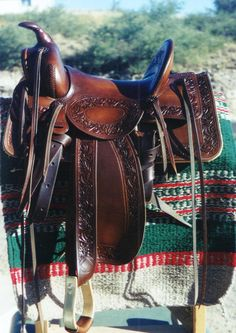 Montgomery Ward Stock Saddle Old West Events Vintage