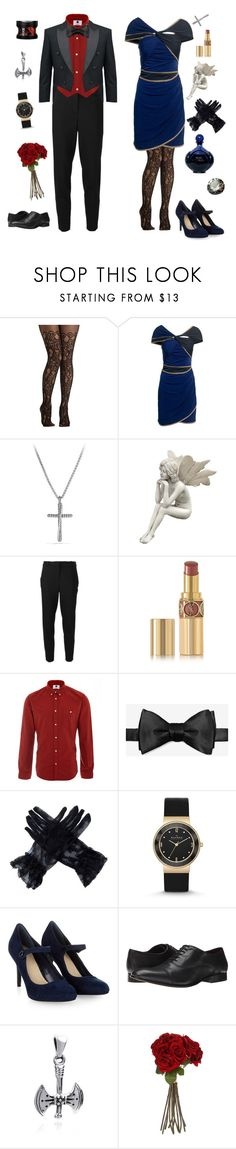 """""""Denmark and Nyotalia Norway-Hetalia"""" by conquistadorofsorts ❤ liked on Polyvore featuring Reiss, David Yurman, MICHAEL Michael Kors, Yves Saint Laurent, NN.07, Skagen, Monsoon, Fitzwell, AeraVida and Sia"""