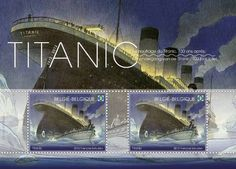 "The new ""Titanic in 3D"" stereoscopic stamp will be issued by the Belgian post (bPost) for the centenary of the sinking of the Titanic in April 1912. The stamp was directed by Belgian cartoonist François Schuiten and Kris Maes."