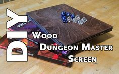 Playing D&D is more than just a game, it's an experience. When I DM a session, I want my players to be engaged with the storytelling. I like adding visual elements when I can, like hand-outs, special artwork, character and monster tents. For the longest time I was bugged by my poor-man's DM screen made …