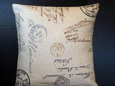 Postage Etsy pillow