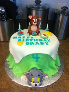 Tom & Jerry cake!