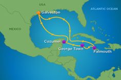 Royal Caribbean - Navigator of the Seas  (Galveston, Falmouth (Jamaica), George Town (Grand Cayman), Cozumel (Mexico) :)  Awesome!)