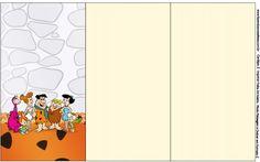 Convite, Cardápio ou Cronograma em Z Os Flintstones: