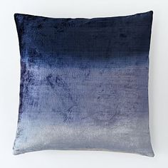39 Ombre Velvet Pillow Cover - Nightshade #westelm on sale today for 23! 40% off all west elm pillows