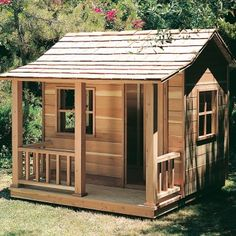Playhouse Plan - for $10.49 you can buy the plans from Rockler to build the same playhouse advertised for $1799.00