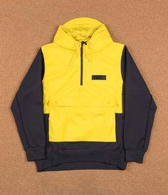 Nike SB Everett Hoodie Jacket - Tour Yellow / Anthracite / Anthracite