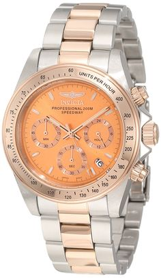 Invicta Men's 6933 Speedway Collection Chronograph Stainless Steel Watch -- Read more at the image link.