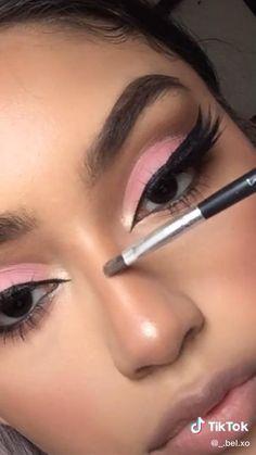 Dope Makeup, Baddie Makeup, Edgy Makeup, Dark Skin Makeup, Eye Makeup Art, Contour Makeup, Eyebrow Makeup, Eyeshadow Makeup, Eye Makeup Designs
