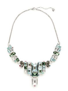 Reload Multi-Shape Tiered Necklace by Swarovski Jewelry on Gilt.com