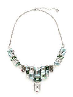 Reload Multi-Shape Tiered Necklace by Swarovski Jewelry on Gilt.com