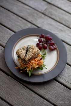 Möhren-Fenchel-Salat Rolls