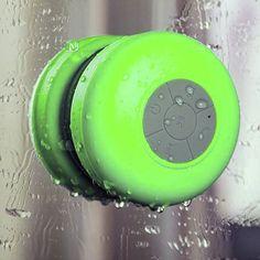 Bluetooth Shower Speaker - Assorted Colors