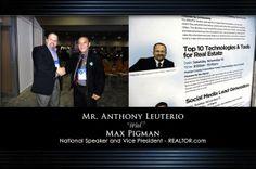 Anthony Leuterio in Social Media BootCamp for Real Estate in Orlando, Florida, USA
