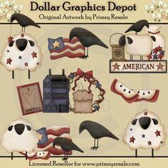 Americana - Clip Art