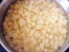 Citromos-snidlinges burgonyafőzelék recept lépés 1 foto Beans, Vegetables, Food, Essen, Vegetable Recipes, Meals, Yemek, Beans Recipes, Veggies