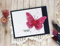 Tasha is back with us today! This time she is sharing two stunning cards made with our Butterfly Beauty Bundle! If you missed Tasha's introduction post where sh