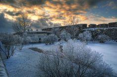 Fortezza di Suomenlinna in inverno