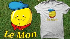 Lemon French Funny Le Mon Limited Edition Cheap Daily T Shirts Cool Graphic Funny Tee Shirts Sharkasm Seal of Approval