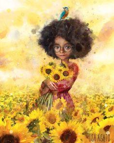 ғᴀᴄ̧ᴀ ᴏ ϙᴜᴇ ғᴏʀ ɴᴇᴄᴇssᴀ́ʀɪᴏ ᴘᴀʀᴀ sᴇʀ ғᴇʟɪᴢ. ᴍᴀs ɴᴀ̃ᴏ sᴇ ᴇsϙᴜᴇᴄ̧ᴀ ϙᴜᴇ ᴀ ғᴇʟɪᴄɪᴅᴀᴅᴇ ᴇ́ ᴜᴍ sᴇɴᴛɪᴍᴇɴᴛᴏ sɪᴍᴘʟᴇs, ᴠᴏᴄᴇ̂ ᴘᴏᴅᴇ ᴇɴᴄᴏɴᴛʀᴀ́-ʟᴀ ᴇ ᴅᴇɪxᴀ́-ʟᴀ ɪʀ ᴇᴍʙᴏʀᴀ ᴘᴏʀ ɴᴀ̃ᴏ ᴘᴇʀᴄᴇʙᴇʀ sᴜᴀ sɪᴍᴘʟɪᴄɪᴅᴀᴅᴇ. Children's Book Illustration, Digital Illustration, Painting Inspiration, Art Inspo, Art For Change, Figurative Kunst, Whimsical Art, Magazine Art, Gouache