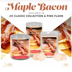 Mmmm...a decadent breakfast experience unlike any other. Savory smoked bacon topped with maple sugar chestnuts and creamy vanilla.#jic