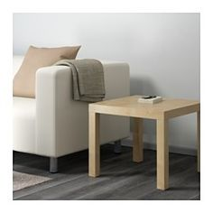 """IKEA - LACK, Side table, white, 21 5/8x21 5/8 """", , Easy to assemble.Lightweight and easy to move. ($10)"""