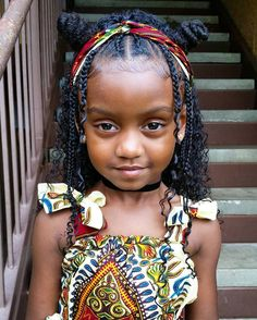Pin by Charlie Wilde on Black Girl Magic✨ in 2019 Baby Girl Hairstyles, Black Girls Hairstyles, Hairstyles For School, Cute Hairstyles, Braided Hairstyles, Kinky Hairstyles, Hairstyles Videos, Braids For Kids, Girls Braids