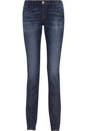 Frame Denim+ Inez and Vinoodh Inez mid-rise straight-leg jeans