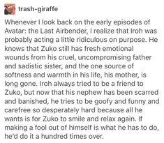 Atla avatar the last Airbender iroh zuko
