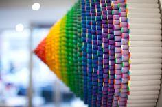 Mesmerizing Rainbow Art - My Modern Metropolis