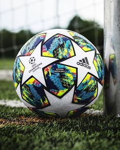 adidas introduces the official Champions League Matchball Inspired by the passion of the fans that each years supports their team in the UCL -- Cool Football Boots, Football Gear, Football Photos, Adidas Football, Football Kits, Leicester City Football, Manchester United Wallpaper, Cat Cow Pose, Ronaldo Football