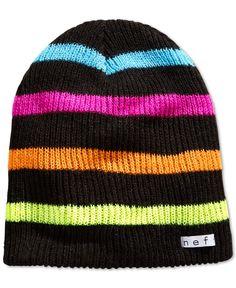 d0e0f504245 Neff Daily Striped Beanie Men - Hats