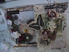 Shabby Scraps: Prima Natures Garden Mini Album