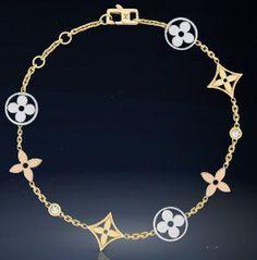 Louis Vuitton-Monogram-web -May.2013,monogram ldylle 3 gold bracelet