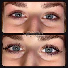 Lashlifting Wimpern ohne Extensions