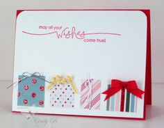 Heard from the Heart Wishes Come True! by cindybstampin - Cards and Paper Crafts at Splitcoaststampers