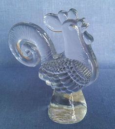 KOSTA BODA GLASS COCKREL BERTIL VALLIEN in Pottery, Porcelain & Glass, Glass, Art Glass | eBay
